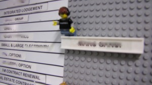 Team members get their own minifigs and each is limited to 7 lines and therefore 7 projects.