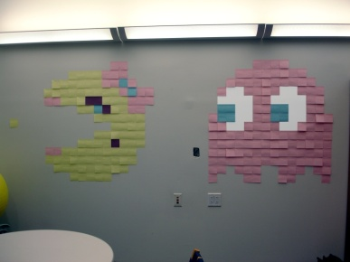 post it pacman